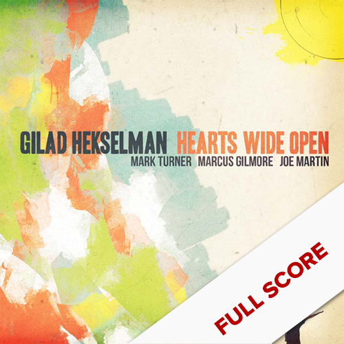 HEARTS WIDE OPEN    FULL SCORE    $29.99