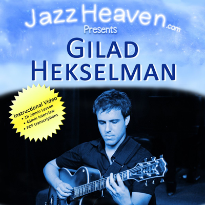 INSTRUCTIONAL DVD - JAZZ GUITAR POLYPHONY BUY: AMAZON I JAZZ HEAVEN