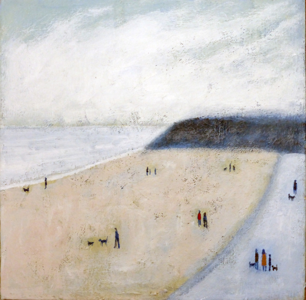 DF04 Cold Knap Beach,300x300, Acrylic on Canvas.JPG