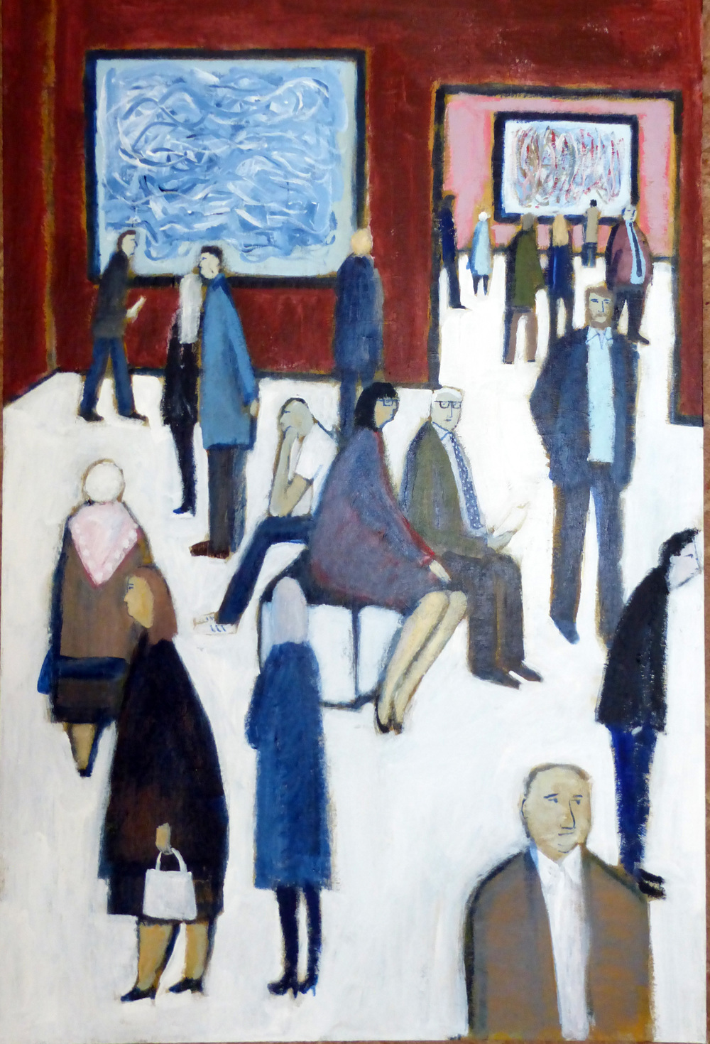 DF05, Exhibition at the RA, 610 x 910, Acrylic on Board.JPG