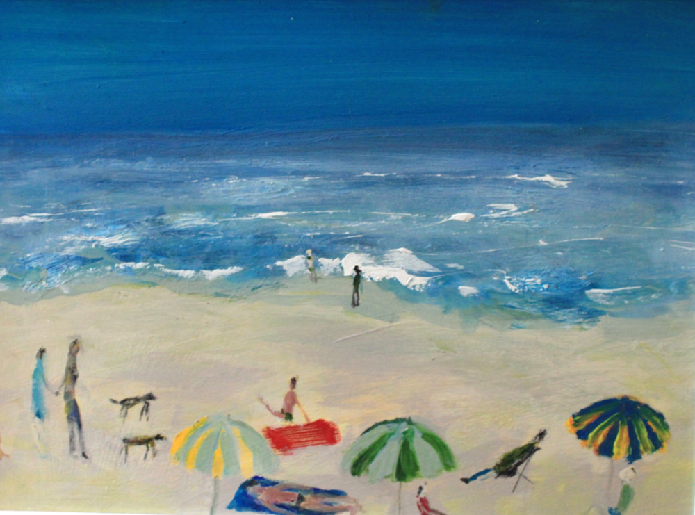 Emma Loveday, Crowded Beach