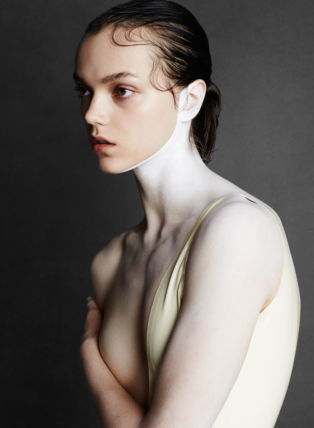 Beauty Papers. Foundation issue.  Photography by David Oldham