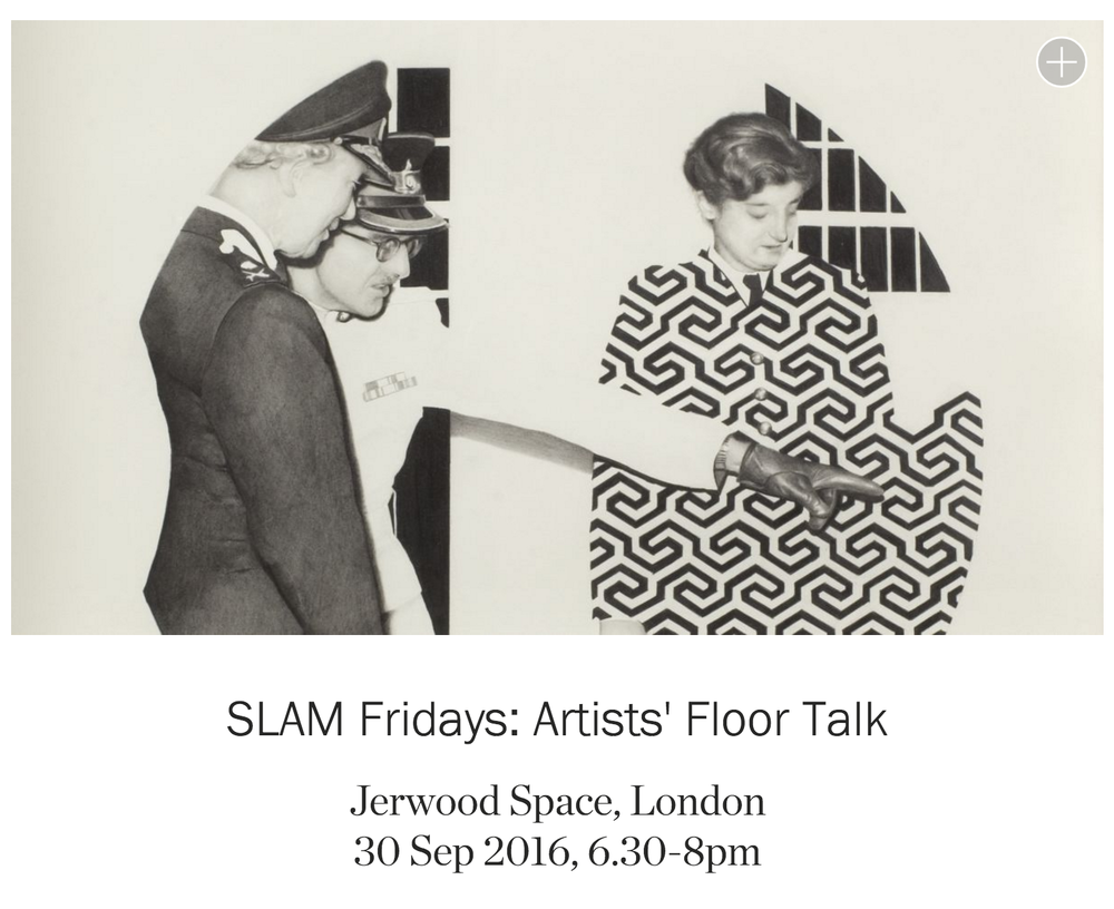 I have been invited to talk about my drawings at an introduction to the Jerwood Drawing Prize 2016 - with artists included in the exhibition.  The talk will be introduced and led by Paul Thomas, artist and co-founder of the Jerwood Drawing Prize.  The exhibition will open late between 5-8pm as part of SLAM Fridays, the late night opening of galleries in South London, on the last Friday of every month. The Artists' Floor Talk will begin at 6.30pm. It is free to attend, but booking is required via Eventbrite.