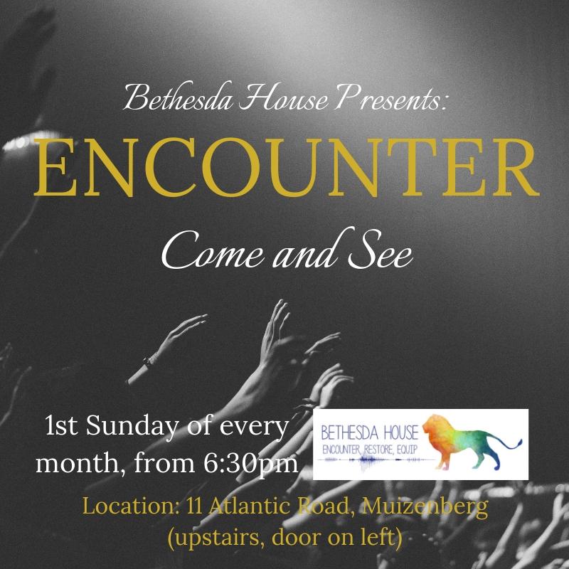 Next Encounter- 5 May 2019 @ 6:30pm, 11 Atlantic Road, Muizenberg
