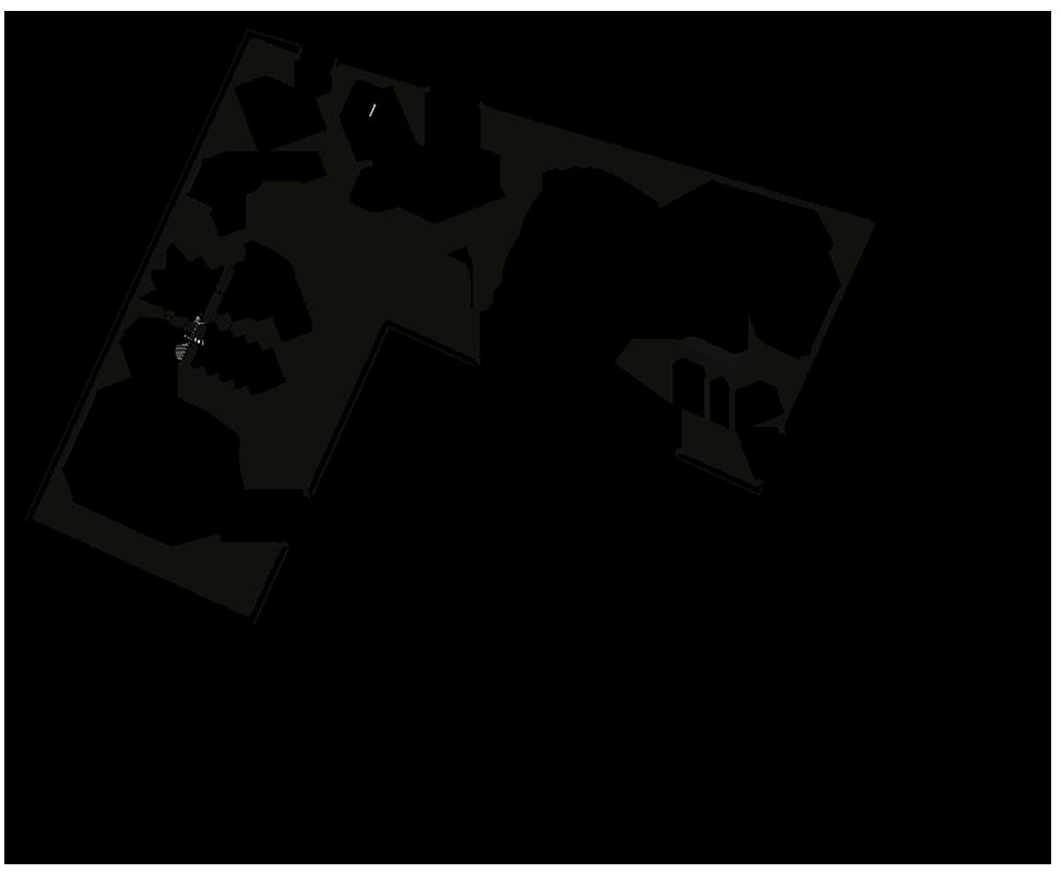 Plan type d'un logement - Rez-de-chaussée
