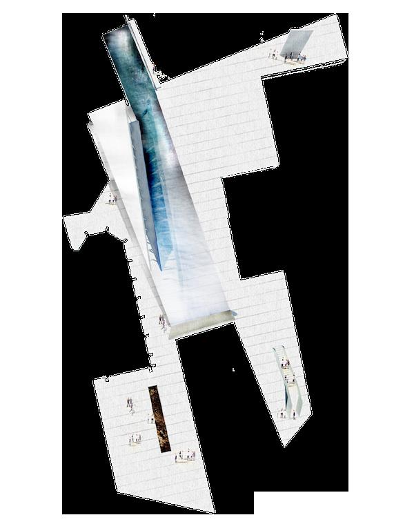 CREATION D'UN ESPACE PUBLIC EN COEUR DE VILLE - LAUREAT EUROPAN 11    Lieu  Aigle 1860, Suisse  Date  Décembre 2011  Mission  Étude stratégie urbaine, maîtrise d'oeuvre pour la création d'un espace public en marbre blanc   Equipe projet  FMAU (mandataire) / VTA, AJI   Maîtrise d'ouvrage  Ville d'Aigle, Europan   Superficie   9 ha étude urbaine, 2375 m2 maîtrise d'oeuvre  Montant des travaux  2,6 M CH HT     Comment réveiller un village Suisse de 8000 habitants qui possède déjà tout ?   Aigle compte 8 757 habitants. L'enquête d'évaluation de l'image de la ville1 conclut que « du point de vue de ses habitants, la ville d'Aigle ne souffre d'aucun problème grave touchant à la qualité de ses infrastructures ». Et pour cause. Avec un nœud ferroviaire majeur, une connexion directe à l'autoroute, et plusieurs études urbaines et territoriales en cours, le développement de la ville est projeté durablement.  L'offre des services, de logements, d'équipements est très satisfaisante. Et l'impressionnant paysage de vignes et de montagne achève de rendre la ville désirable. La même enquête explique néanmoins qu'« Aigle est […] en manque de convivialité. Elle souffre d'un sérieux déficit d'image quant à sa créativité ainsi qu'à la pauvreté perçue des événements ou infrastructures culturels. Elle a enfin mal en son centre-ville. »  Nous libérons l'espace situé entre l'église et une minoterie pour en faire un lieu hautement stratégique et offrir un vis-à-vis inédit entre les deux bâtiments. Deux rues desservant un tramway sont ainsi reliées. Chaque extrémité marque un arrêt du train Aigle-Leysin. Un vaste calepinage en marbre de Carrare, en finition frottée, recouvre le sol.