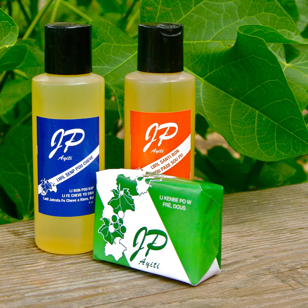 Personal care products made from Jatrofa