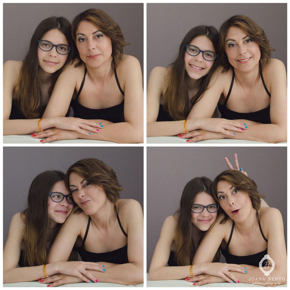 fotografia mae e filha