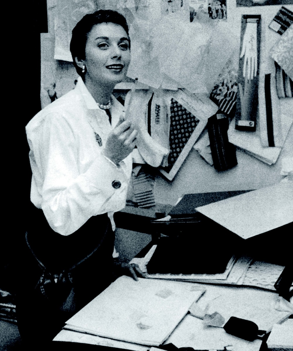 Designer Anne Klein was among those who impressed the world of fashion in 1973.