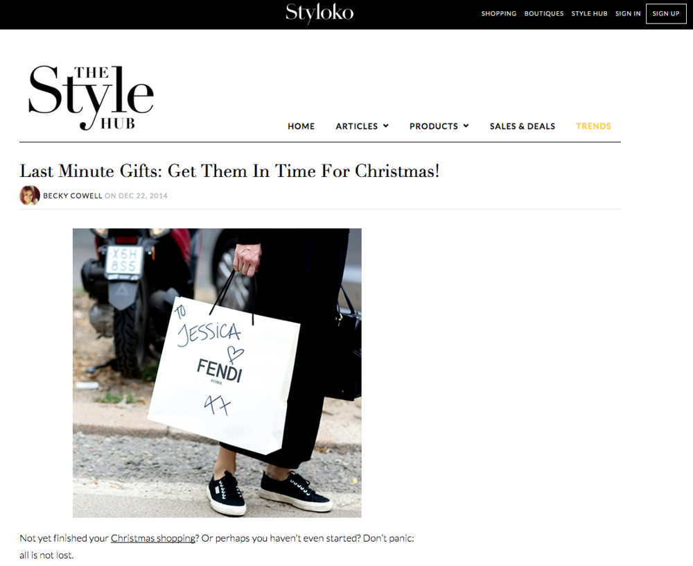 Last minute gift recommendations including Anne Klein watches on Styloko
