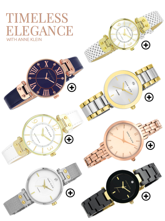 Anne Klein watches featured in Ultimate Wedding Magazine