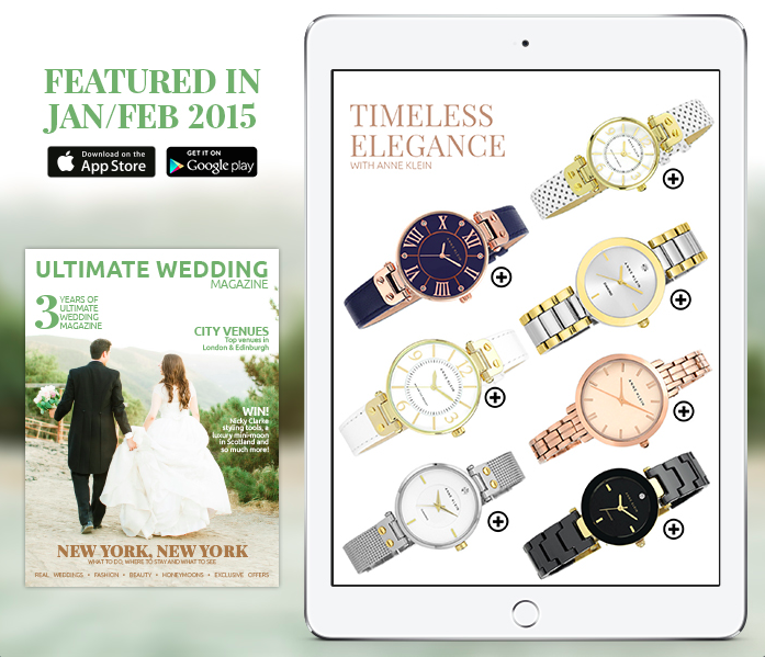 The January/February 2015 Ultimate Wedding Magazine issue