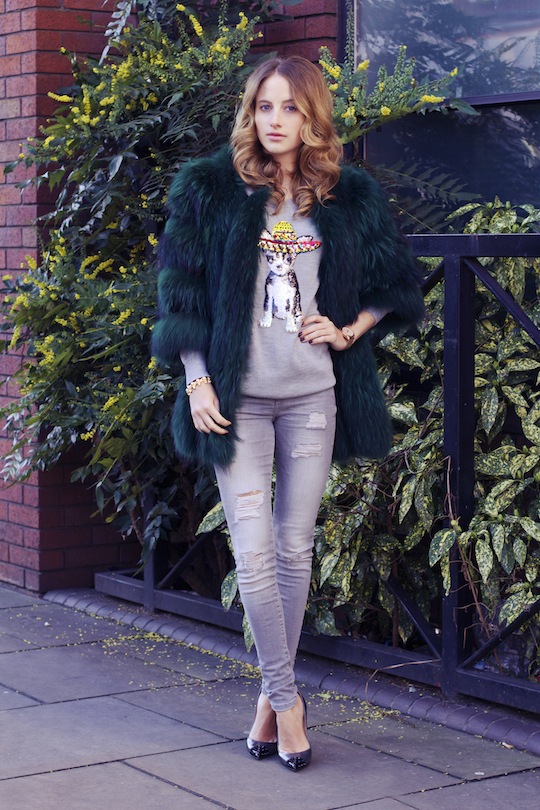 Rosie Fortescue's Street Style 03/02/2015