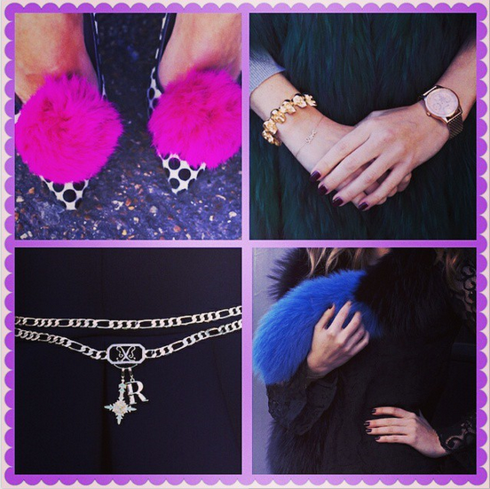 Rosie features the Anne Klein Ladies Rose Gold bracelet (top right)
