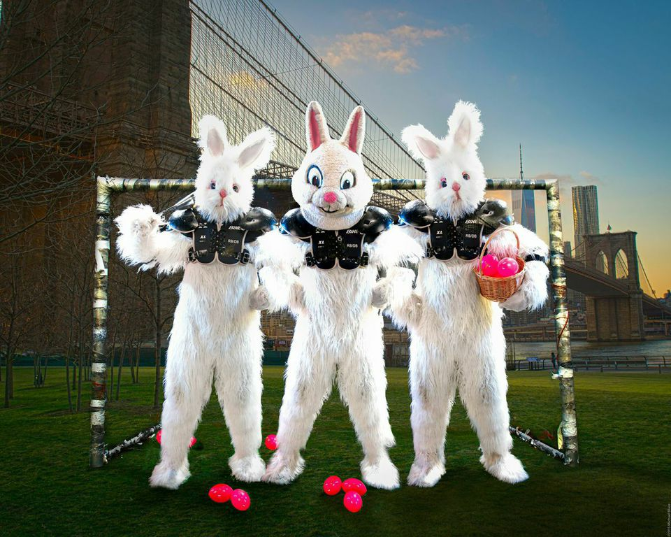 Do you have what it takes to battle the bunnies of FBC? Guess you'll find out when you're thrown into our 20 x 20 foot steel rabbit cage!
