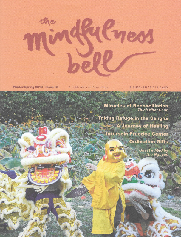 Read Anita's article on Mindfulness Bell Winter/Spring 2019 -