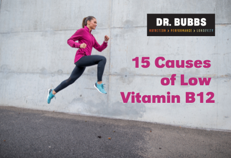 15 Causes of Low Vitamin B12 Status — Dr  Marc Bubbs