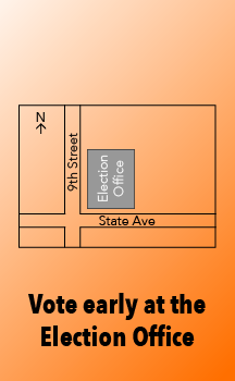 Stop by our office during normal business hours and cast your vote.