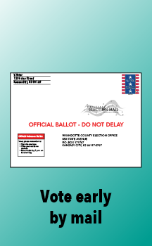Have us mail you a ballot and vote in the comfort of your own home.