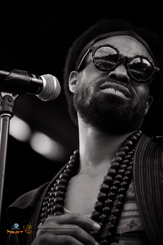 Bilal performs at ONE Musicfest