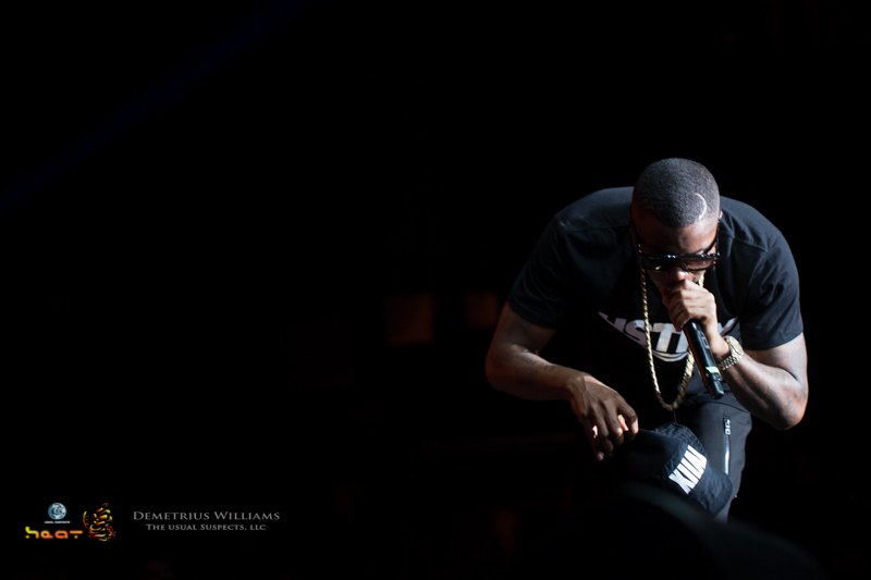 Nas performs at ONE Musicfest