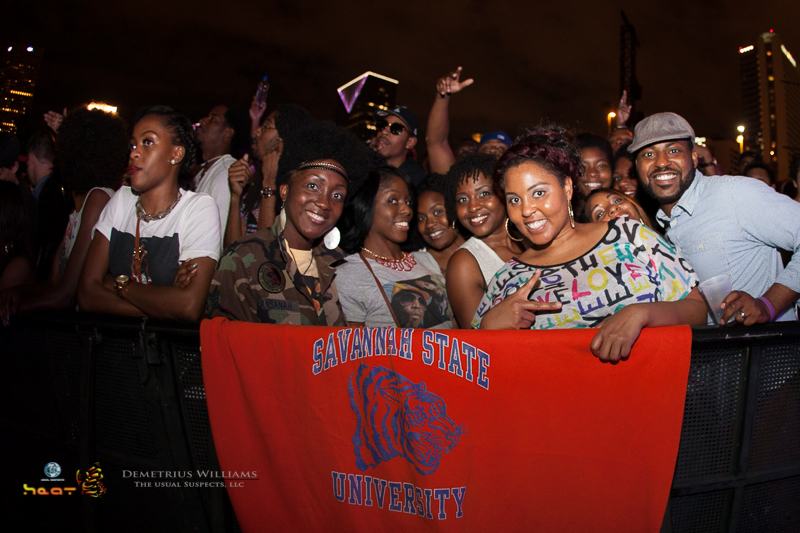 Savannah State in attendance