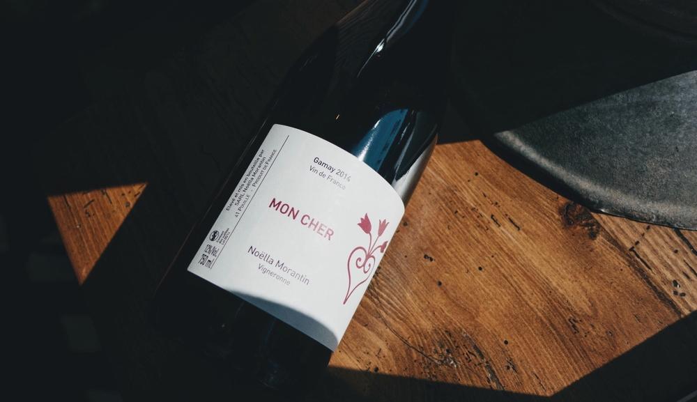 Noëlla Morantin Mon Cher Vin de France |$25