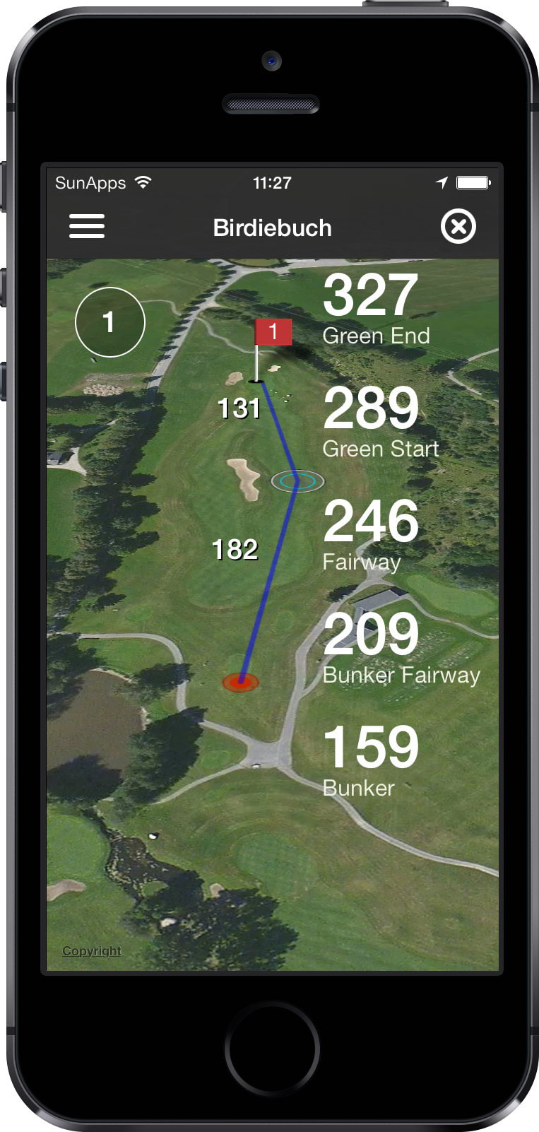 The 3D GPS Birdiebook
