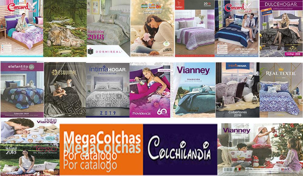 Las Mejores Marcas de Colchas, Edredones y Cobertores para Venta por Catalogo, Mayoreo con Descuentos y Franquicias con optimos descuentos