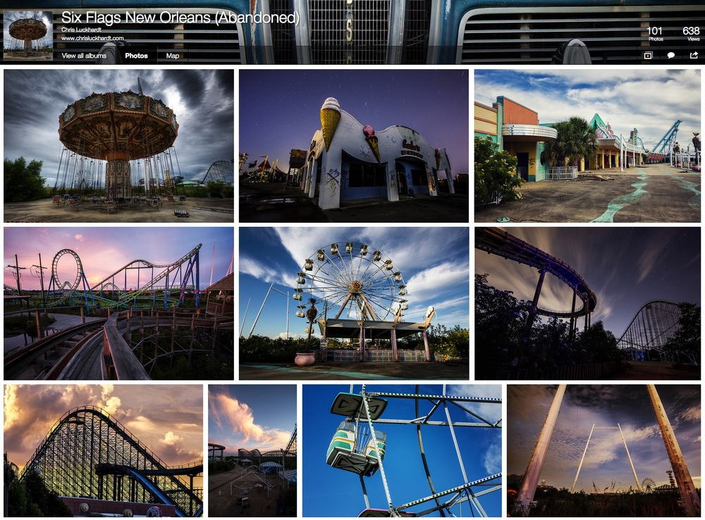 Click to see Chris Luckhardt's Six Flags New Orleans photos