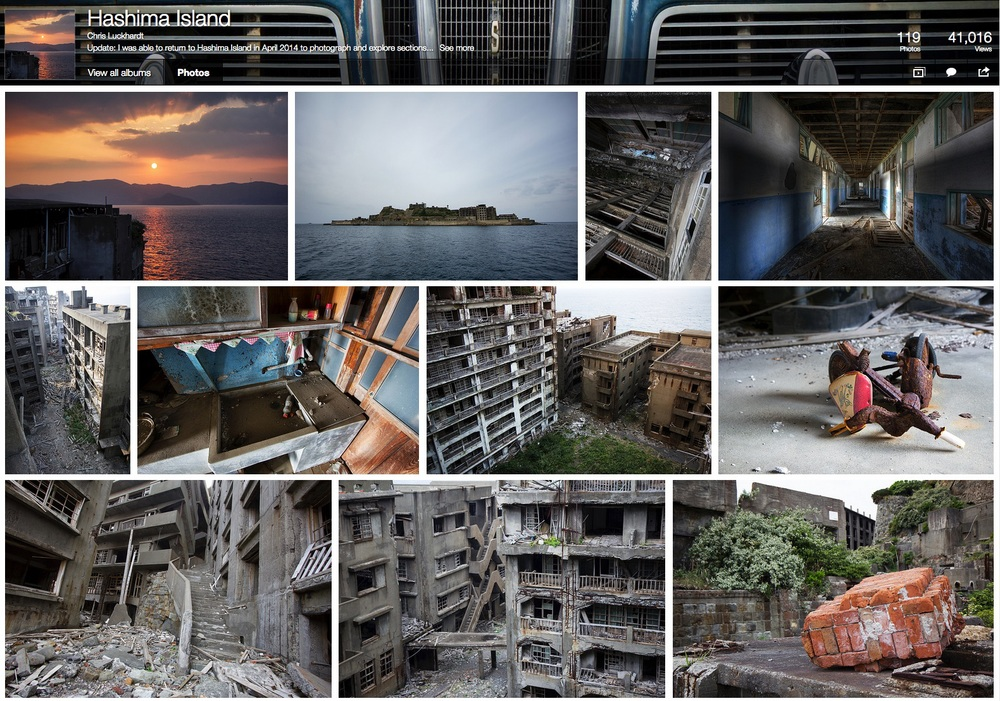 Click to see Chris Luckhardt's Hashima Island photos