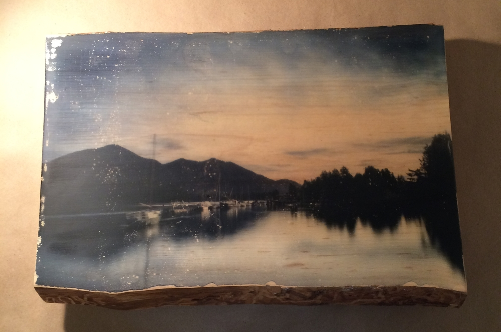 Tofino Bay, Canada just before I destroyed it in the resin booth