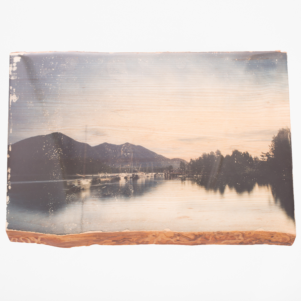 Tofino Bay - One of a Kind - Woodprint