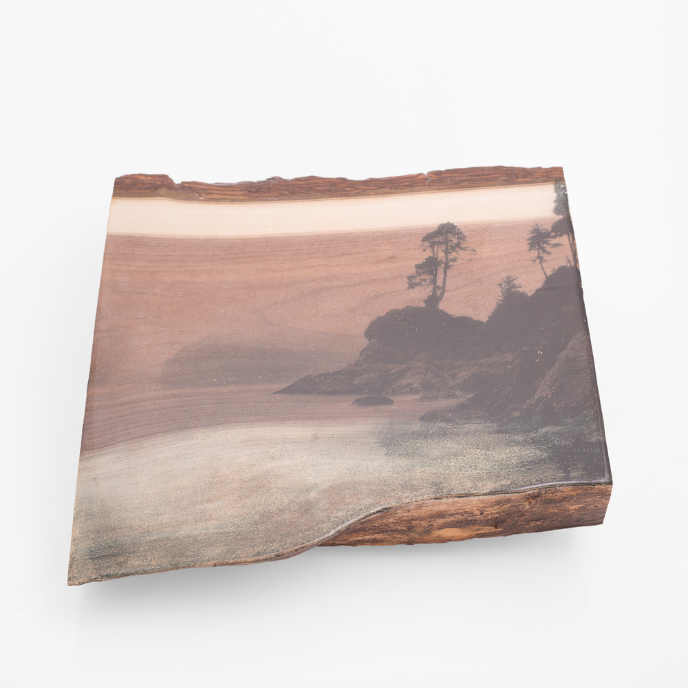Tofino Beach, Wash - One of a Kind - Woodprint