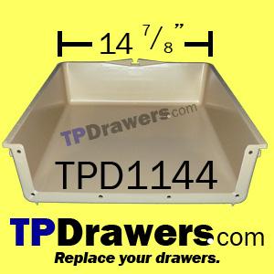 14 7 8 X 4 Plastic Drawer Box Tpdrawers Com Triangle Pacific Plastic Drawer Box Inserts