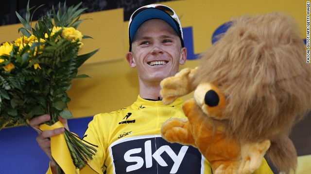 Chris Froome wins the final yellow jersey in 2013