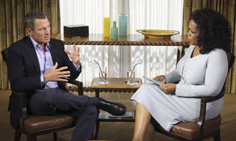 Armstrong's first full confession on Oprah