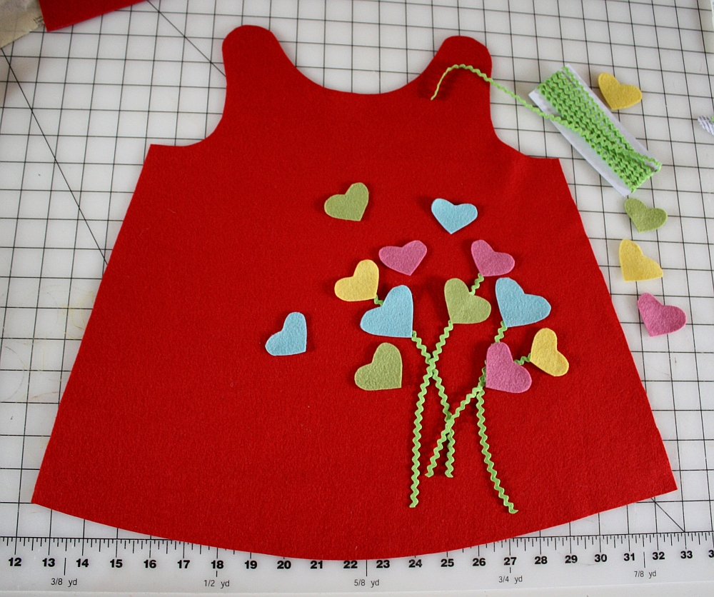 Heartfelt Valentine's Day Jumper Pattern