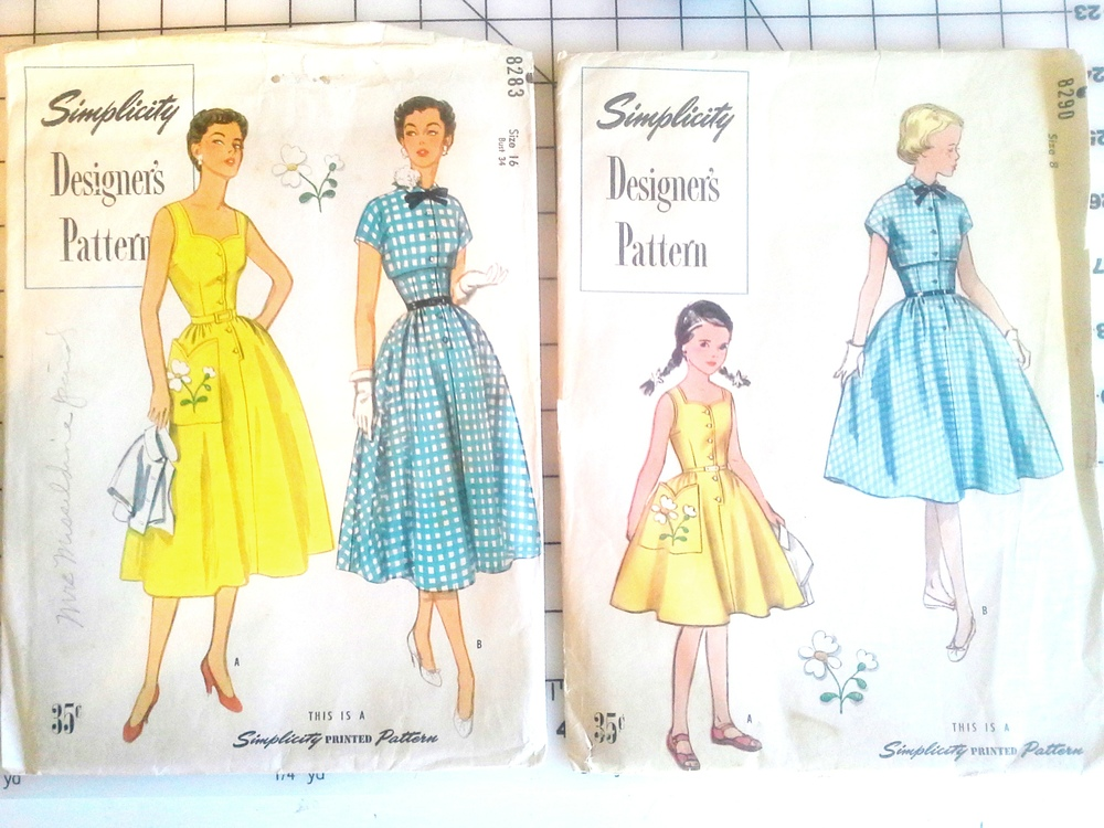 Vintage Simplicity Patterns