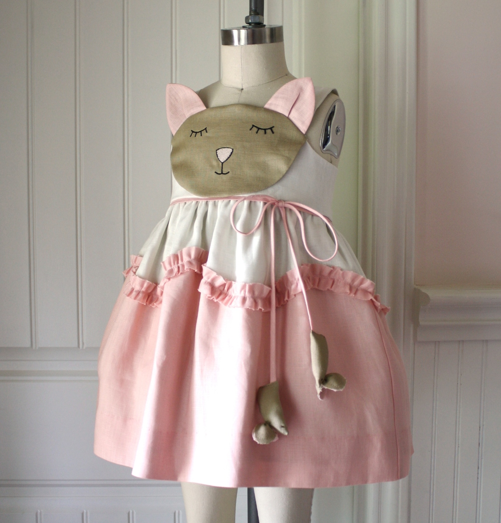 Little Goodall Spring 2014 Cat and Mouse Dress
