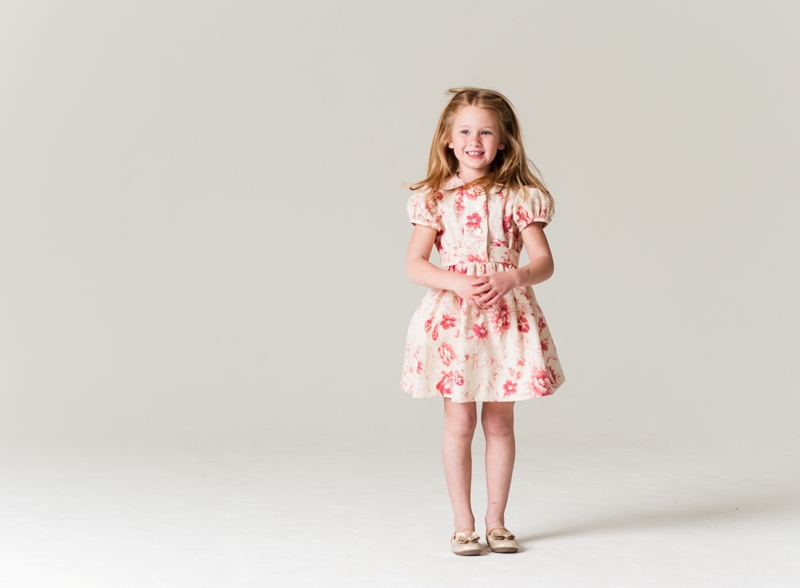 Little Goodall Spring Rose Dress