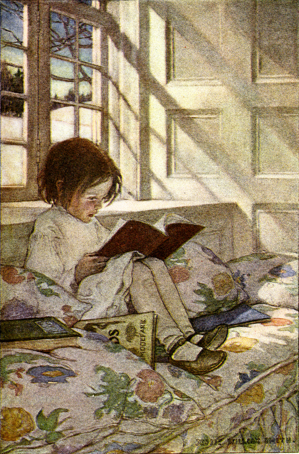 Beautiful vintage illustration by Jessie Wilcox Smith
