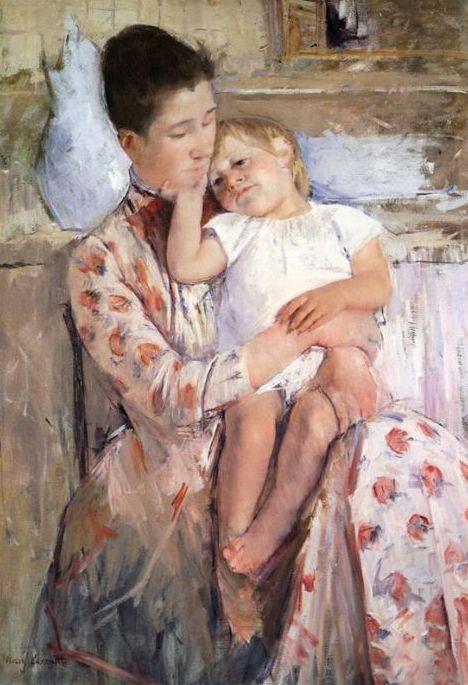 Mother and Child, 1890, Mary Cassatt