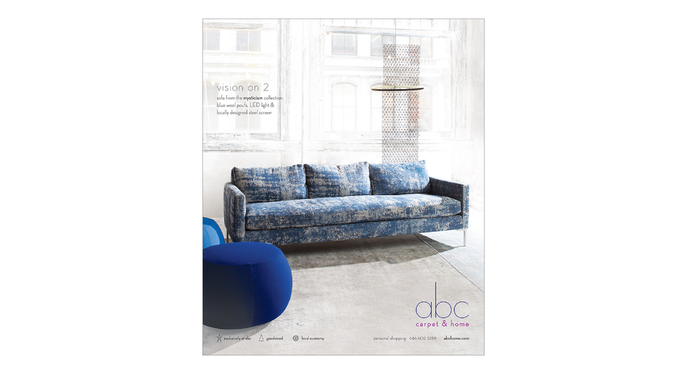CLIENT: Abc Carpet U0026 Home | PROJECT: Print + Digital Ads For Elle Decor,  NEW YORK TIMES, NY MAGAZINE | ROLE: SENIOR DESIGNER | PHOTOGRAPHERS: AMBER  GRAY, ...