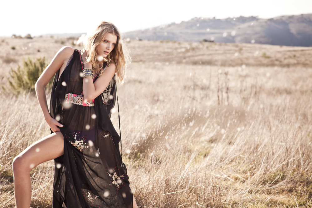 Behind the scenes monsoon shoot with Lily Donaldson