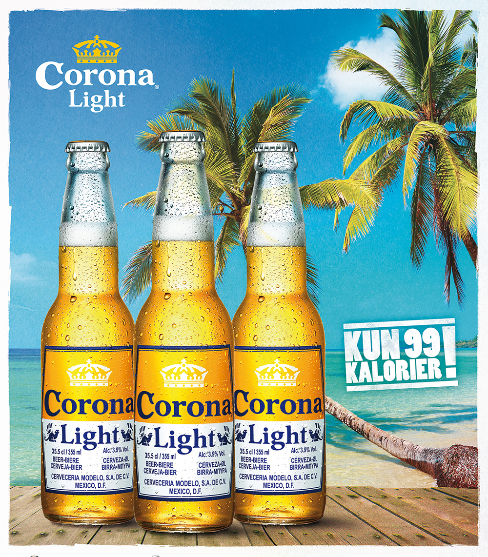Promotional Poster for a Corona Light, Germany