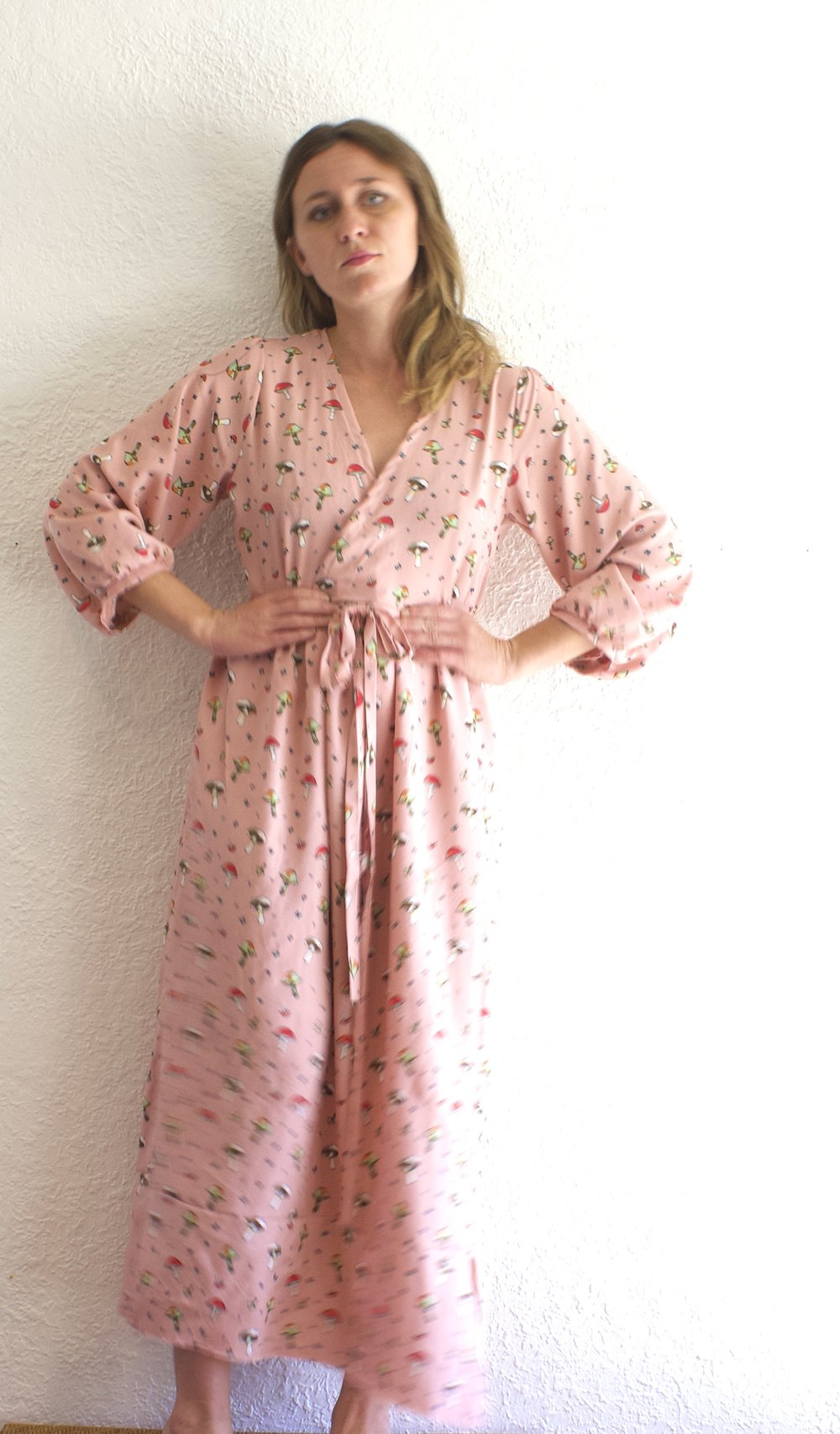 Whimsical Wrap Dress - $80