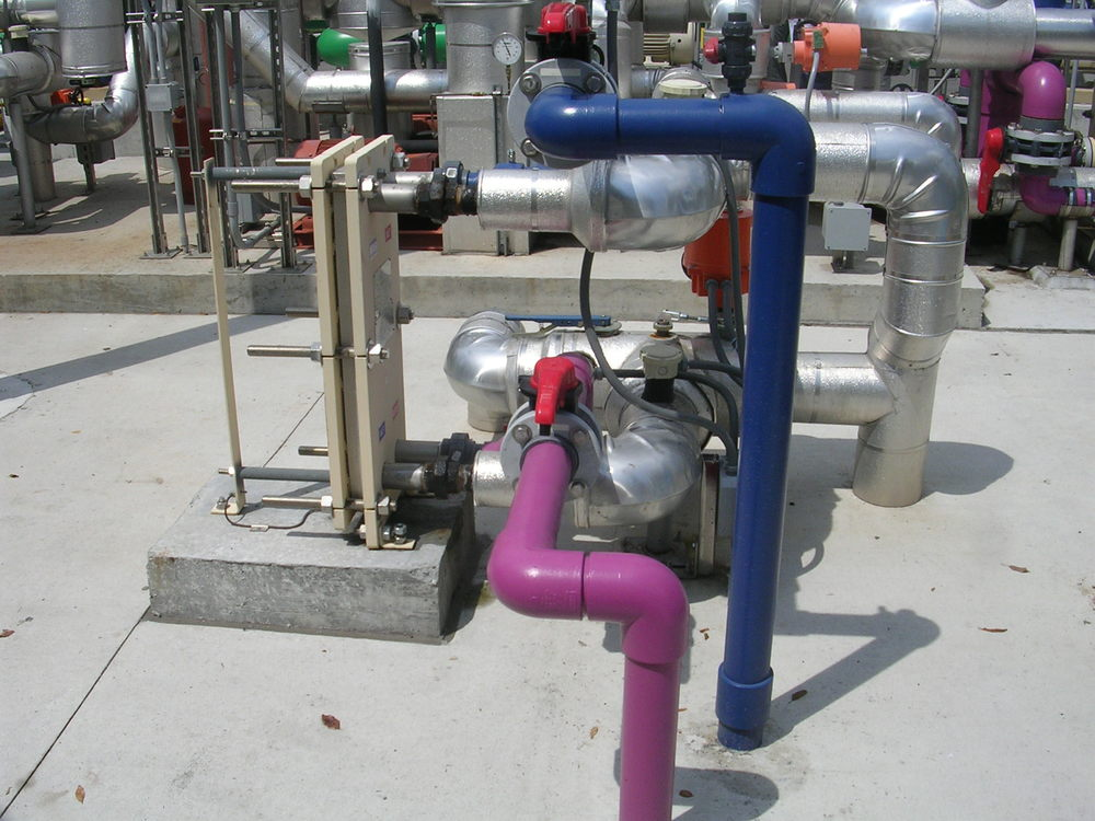 Heat Exchanger and Piping.JPG