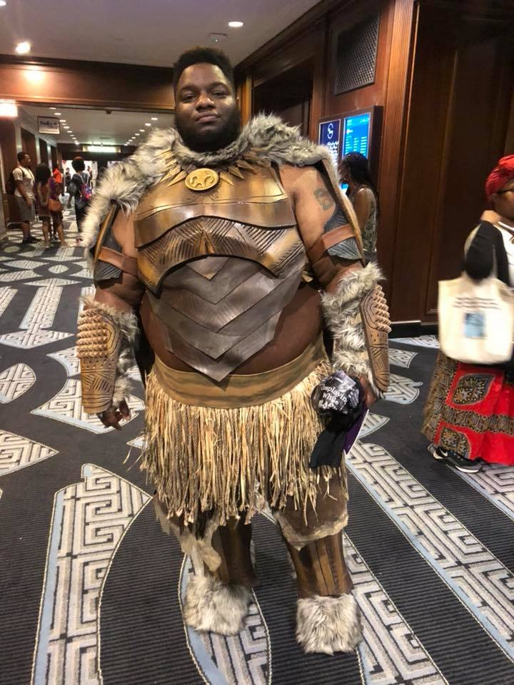 Costume watching with cosplayers @ the first  WakandaCon  in Chicago this past summer of 2018.