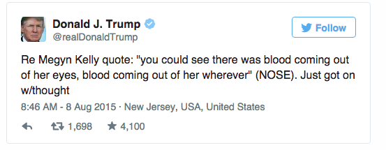 Trump attempts to clarify his comment?